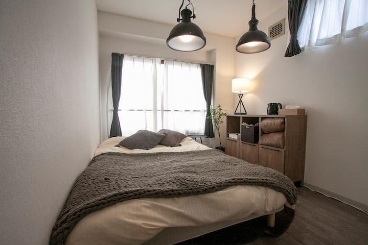 札幌市の家具家電付きマンスリーマンション「プレジャー大通西18 1R」メイン画像