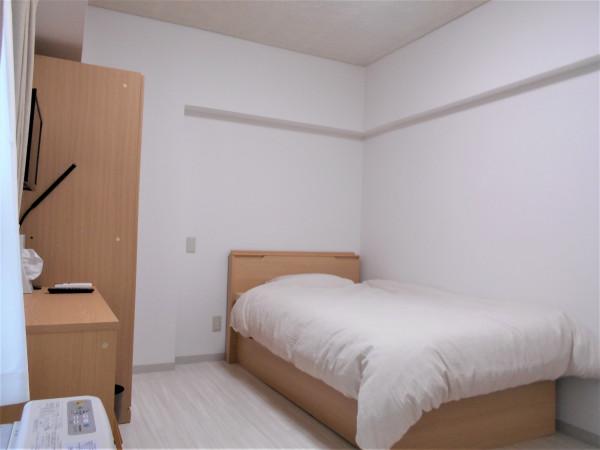 札幌市の家具家電付きマンスリーマンション「カサ ウィスタリア 411・1ルーム」メイン画像