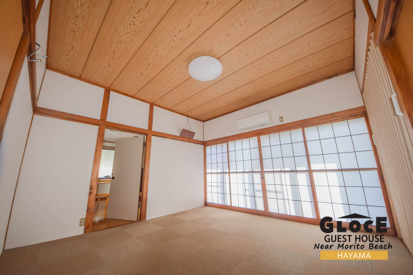 神奈川県のウィークリーマンション・マンスリーマンション「Glocal Hayama near Morito Beach, 森戸海岸まで歩いて行けます! 1軒貸し切りタイプ」メイン画像