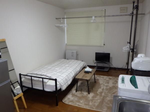 室蘭のウィークリーマンション・マンスリーマンション「コスモⅡ 1R(No.153246)」メイン画像