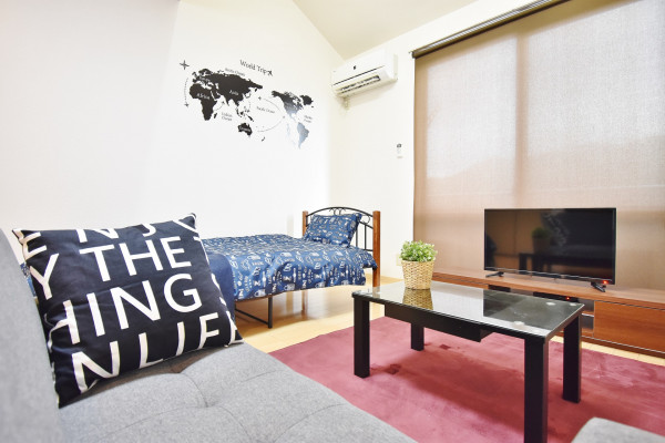 岡山県の家具付き賃貸「ラ・パルテール百間川五番館」メイン画像