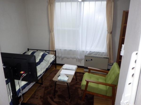 室蘭のウィークリーマンション・マンスリーマンション「大昭グリーンヒル1 1R(No.153297)」メイン画像