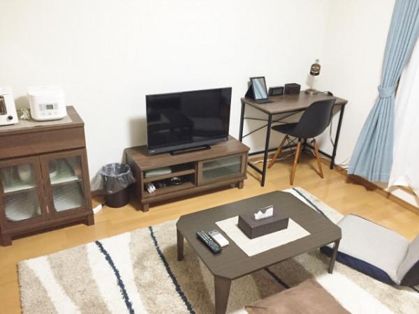茨城県のウィークリーマンション・マンスリーマンション「パインヒルカトウD棟 202・1K」メイン画像