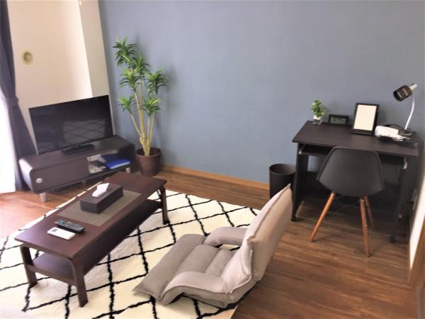 茨城県のウィークリーマンション・マンスリーマンション「ハートリーヒル 202・1K」メイン画像