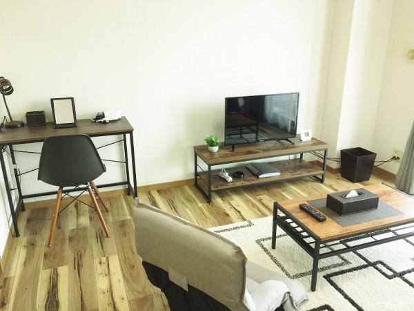 茨城県のウィークリーマンション・マンスリーマンション「ハートリーヒル 306・1K」メイン画像