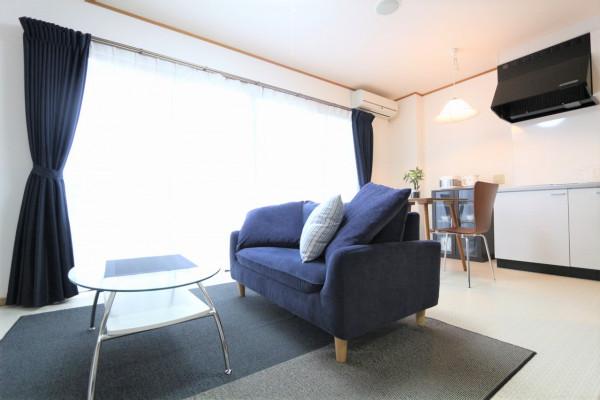 日本全国のウィークリーマンション・マンスリーマンション「LiViNG KOGA 7H・1LDK」メイン画像