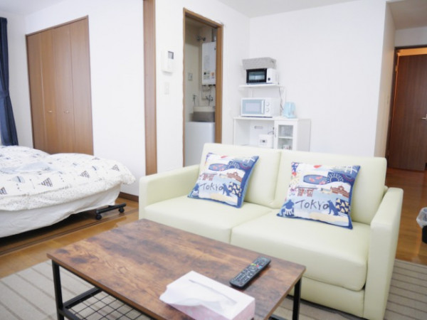 北海道札幌市中央区のウィークリーマンション・マンスリーマンション「マンスリーイーストコート3 101・1DK」メイン画像