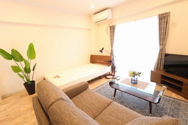 茨城県のウィークリーマンション・マンスリーマンション「サンワ古河マンション 501・1K」メイン画像