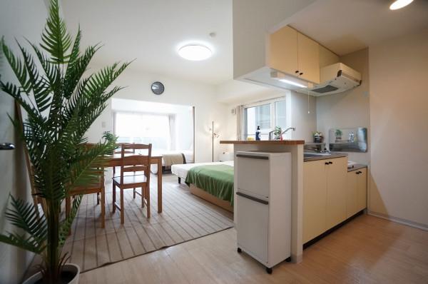 札幌市の家具家電付きマンスリーマンション「IK南6条レジデンス 803・1LDK」メイン画像