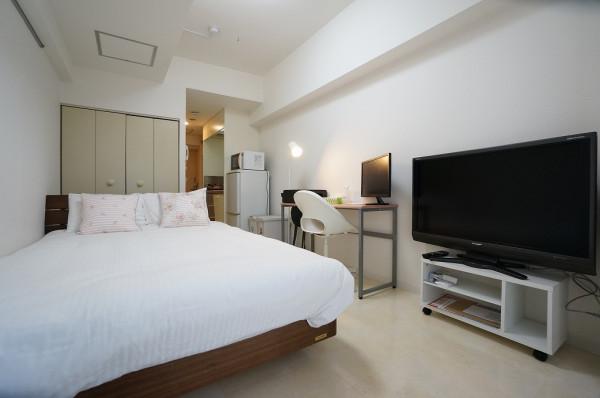北海道札幌市北区の家具家電付きマンスリーマンション「メゾン・ド・グルー 430・1K」メイン画像