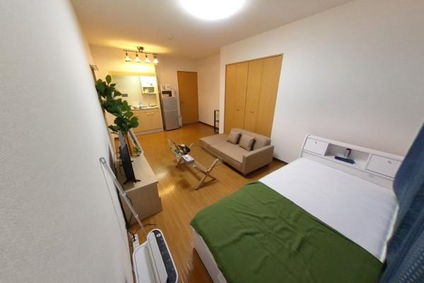 愛知県のウィークリーマンション・マンスリーマンション「HIKURASHI北岡崎 Atype」メイン画像