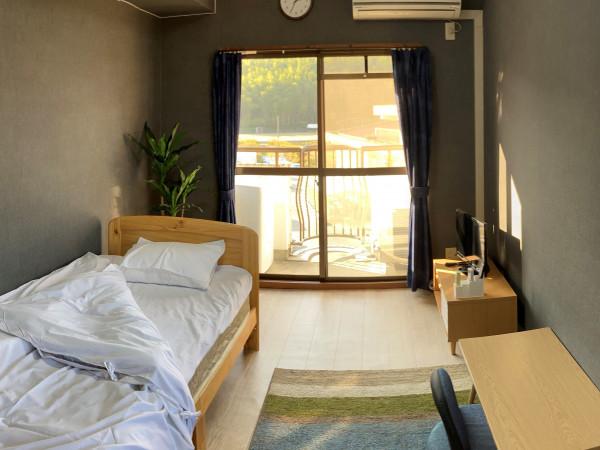 京都府のウィークリーマンション・マンスリーマンション「京都academia KITAGEN 515・1K(No.153477)」メイン画像