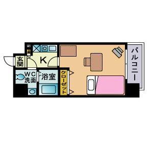 ▲▽博多駅4分▲▽ ピュアドームヴィアーレ博多 ▲▽バストイレ別々▲▽<