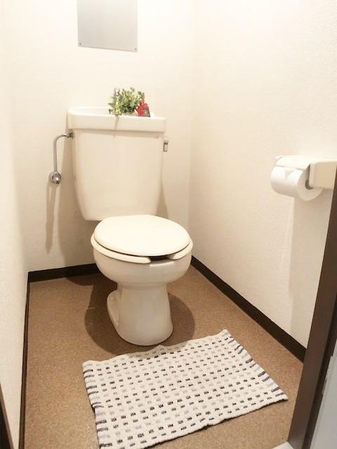 洋式のお手洗い◎ 老若男女皆さまに安心してご利用いただけます♪