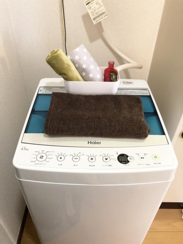 滞在に必須のお洗濯もコインランドリー知らずです。毎日でも回したいところです。お持ちになる荷物も減るのでは、、!