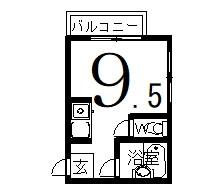 「OIDAコーポ」間取図画像