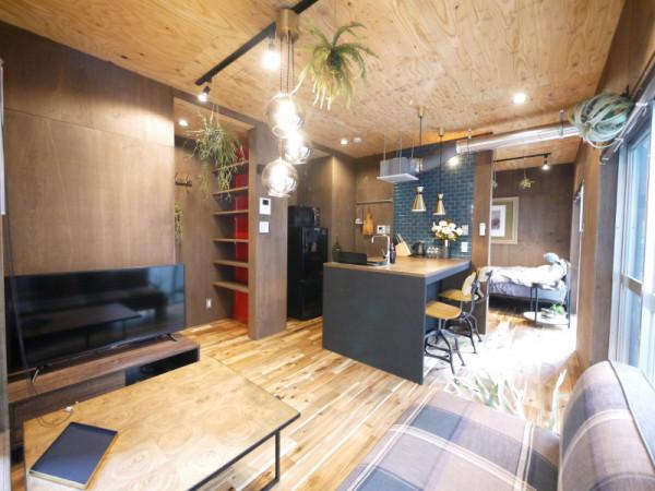 東京都のウィークリーマンション・マンスリーマンション「OLIVEとミッドセンチュリー 1K」メイン画像