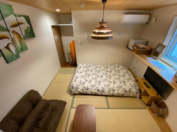 東京都のウィークリーマンション・マンスリーマンション「EL 西新宿6 201.102・築2年和室(No.154283)」メイン画像