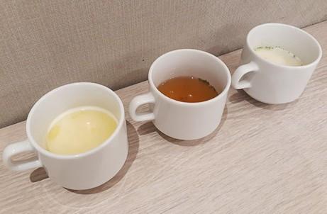 朝食付き!あったまるスープ3種