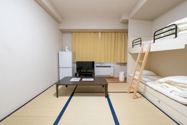 日本全国のウィークリーマンション・マンスリーマンション「エンゼルリゾート湯沢 516・和室(No.154407)」メイン画像