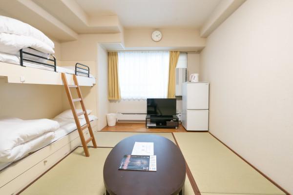 日本全国のウィークリーマンション・マンスリーマンション「エンゼルリゾート湯沢 610・和室(No.154409)」メイン画像