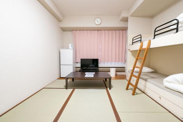 日本全国のウィークリーマンション・マンスリーマンション「エンゼルリゾート湯沢 211・和室(No.154414)」メイン画像