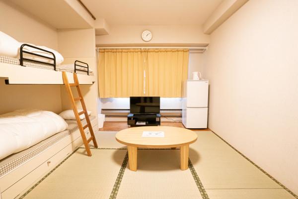 日本全国のウィークリーマンション・マンスリーマンション「エンゼルリゾート湯沢 307・和室(No.154416)」メイン画像