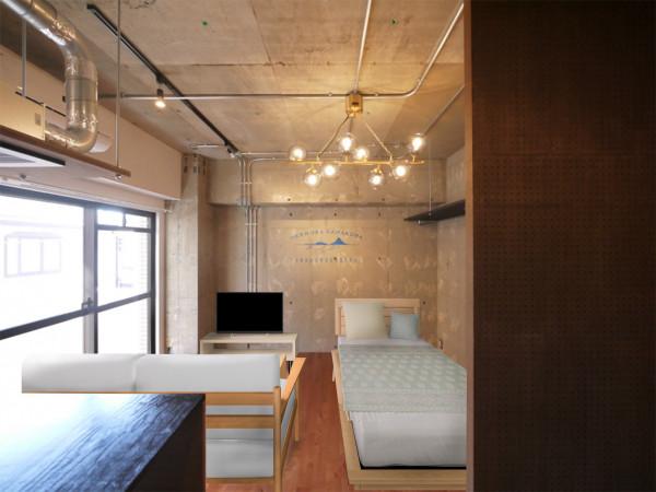 日本全国のウィークリーマンション・マンスリーマンション「パークアベニュー 1K」メイン画像