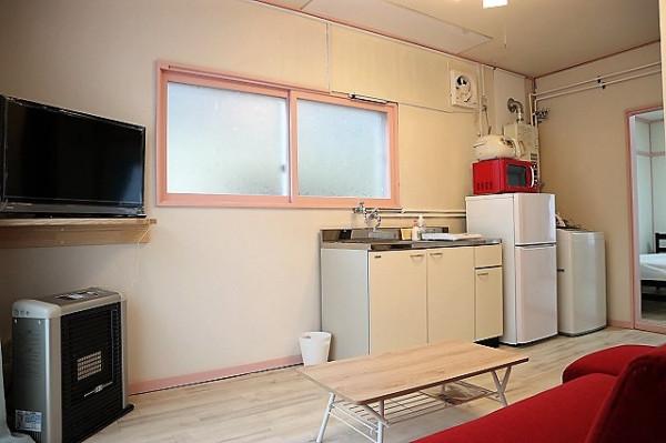 札幌市のウィークリーマンション「ペット滞在応相談♪サービスアパートメントSAPPORO札幌東 1DK(No.154506)」メイン画像