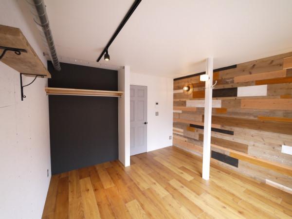 東京都のウィークリーマンション・マンスリーマンション「杉並マンスリー 206・1K Old woodのパッチワーク」メイン画像