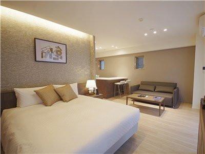 東京都のウィークリーマンション・マンスリーマンション「へーベルSTAY代官山・サービスアパートメント 301・1R」メイン画像