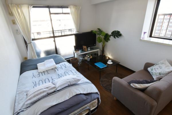 山口県徳山市の家具付きウィークリー・マンスリーマンション「Kマンスリー徳山駅前」メイン画像