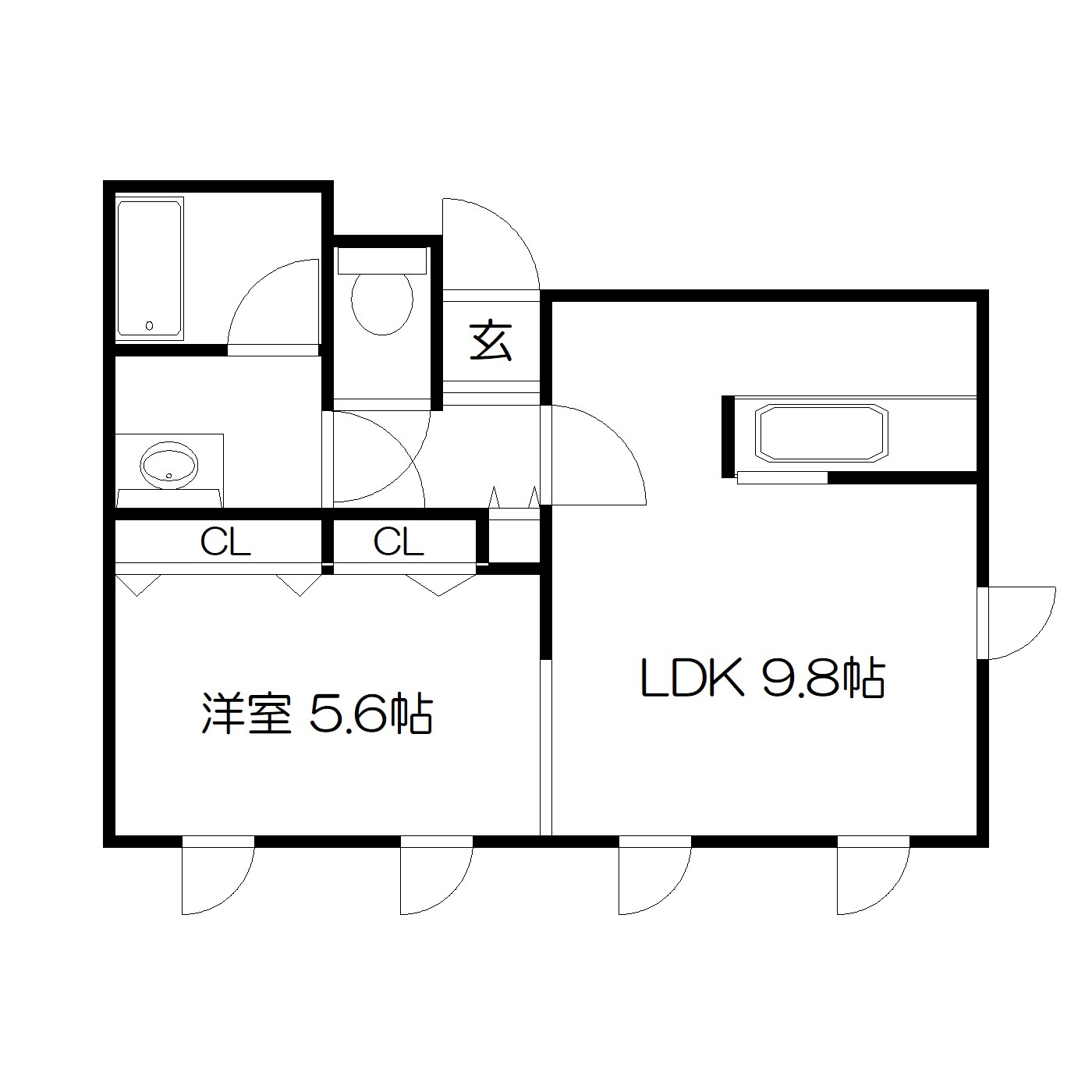 POROKARI大通公園西B/セミダブル/ネット無料/オートロック完備