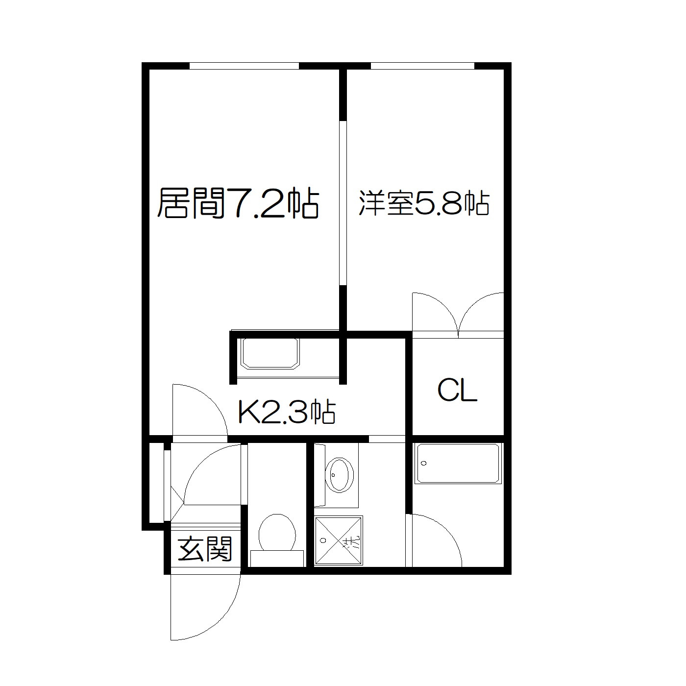 POROKARI菊水駅前/オートロック/北海道がんセンター徒歩3分