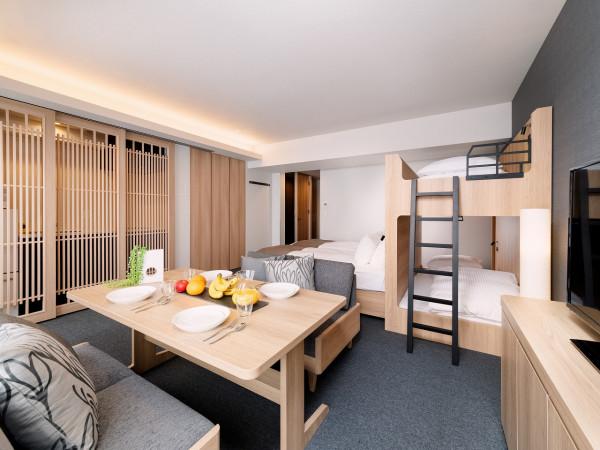 京都府のウィークリーマンション・マンスリーマンション「アパートメントホテル MIMARU 京都 西洞院高辻 ここは、あなたたちのサードプレイス。自由自在の空間へようこそ(No.154982)」メイン画像