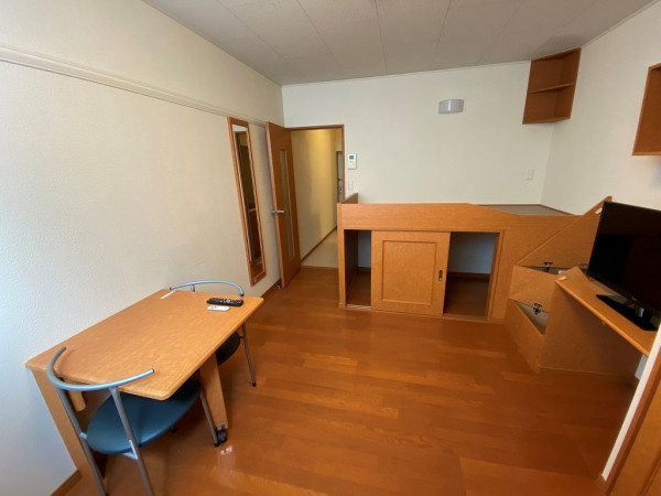 北海道札幌市西区のウィークリーマンション・マンスリーマンション「レオパレスハッサムA 102(No.155751)」メイン画像