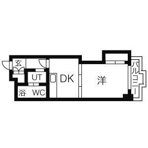 「ノースステイ創成川公園」間取図画像