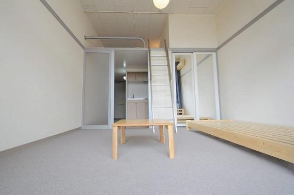 茨城県のウィークリーマンション・マンスリーマンション「レオパレスグリーンハイツ 201(No.162450)」メイン画像