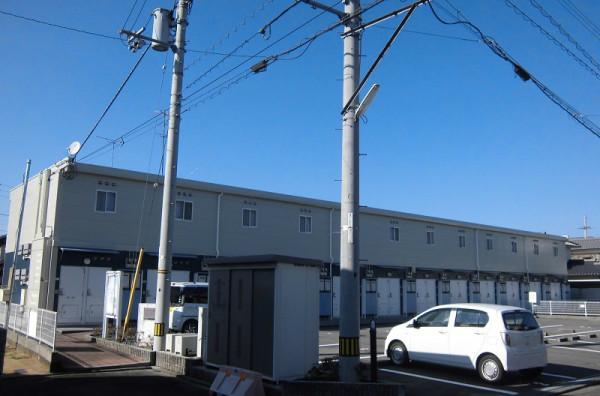 愛媛県松山市のウィークリーマンション・マンスリーマンション「レオパレスディアコート KI 101(No.170688)」メイン画像