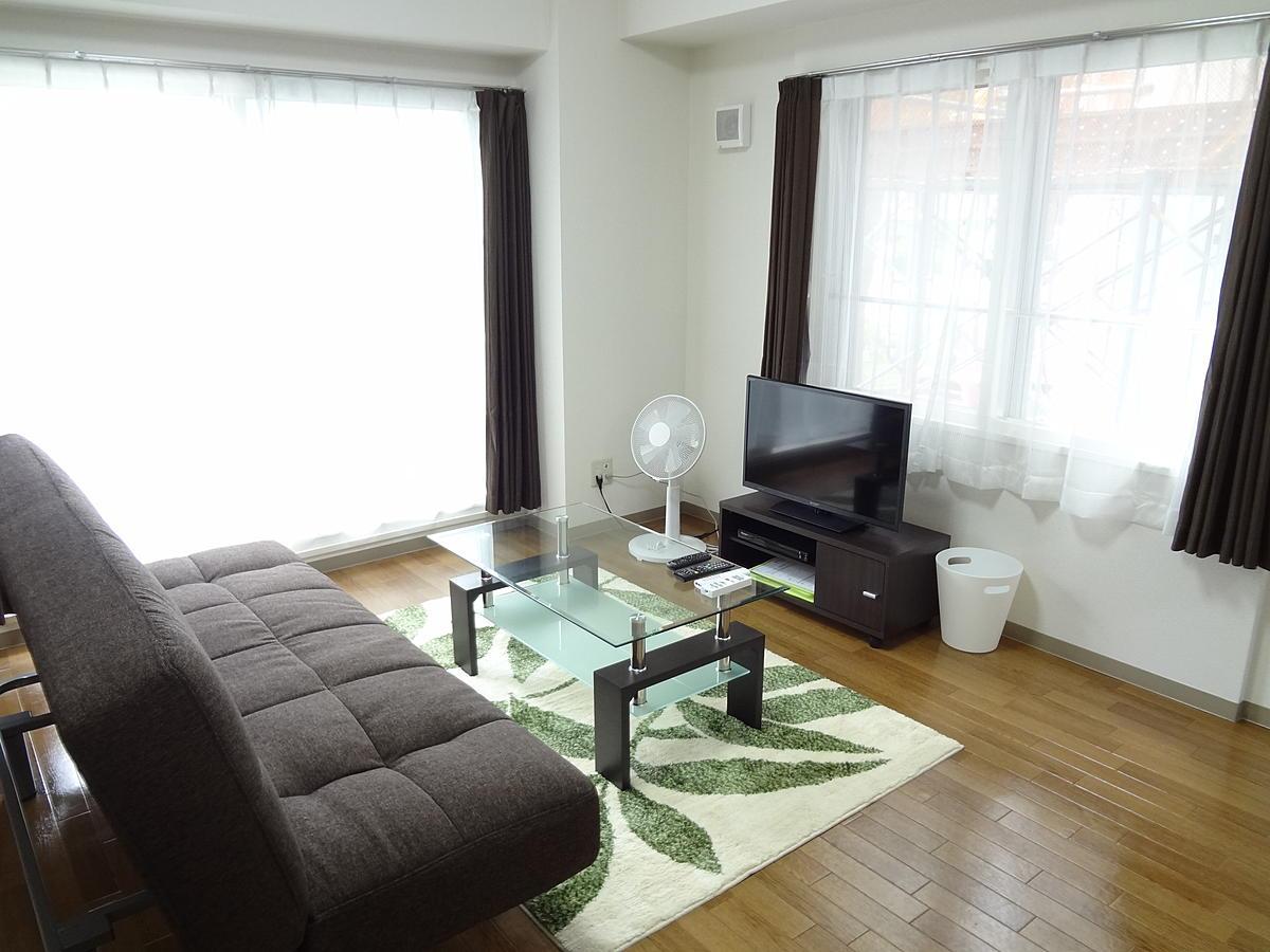 札幌のマンスリーマンション・ウィークリーマンション「ノースステイ大通西 202・1LDK」メイン画像