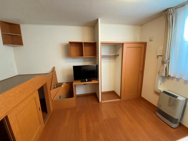 北海道函館市のウィークリーマンション・マンスリーマンション「レオパレスしあわせの家 103(No.172157)」メイン画像