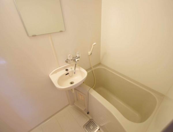 洗面所付お風呂です