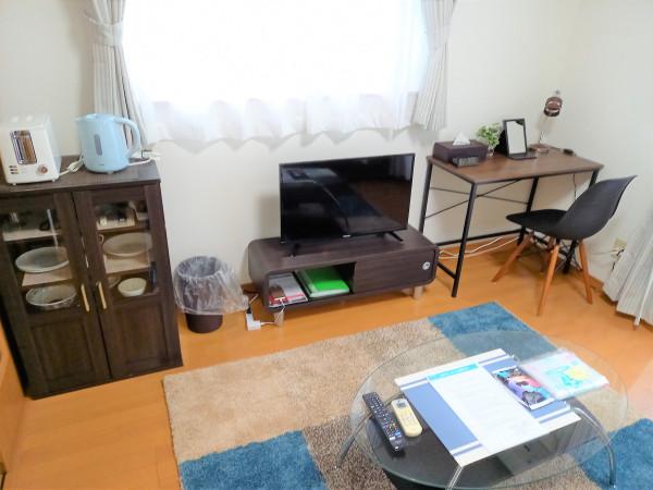 日本全国のウィークリーマンション・マンスリーマンション「パインヒルカトウD棟 201・1K(No.231508)」メイン画像