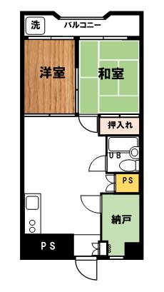 Flow錦糸町5B【ペット(小型犬・猫)同居可・2SLDK40㎡・モバイルWiFiレンタル可】<