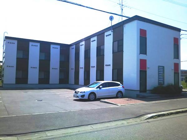 北海道石狩市のウィークリーマンション・マンスリーマンション「レオパレス響きの森 102(No.232427)」メイン画像