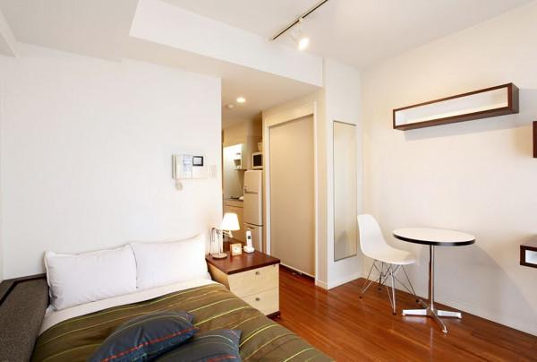 東京都のウィークリーマンション・マンスリーマンション「ビーサイト日本橋人形町サービスアパートメント スタジオCタイプ(No.298812)」メイン画像