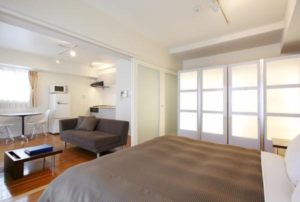 東京都のウィークリーマンション・マンスリーマンション「ビーサイト日本橋人形町サービスアパートメント 1BR Gタイプ(1LDK)(No.298814)」メイン画像
