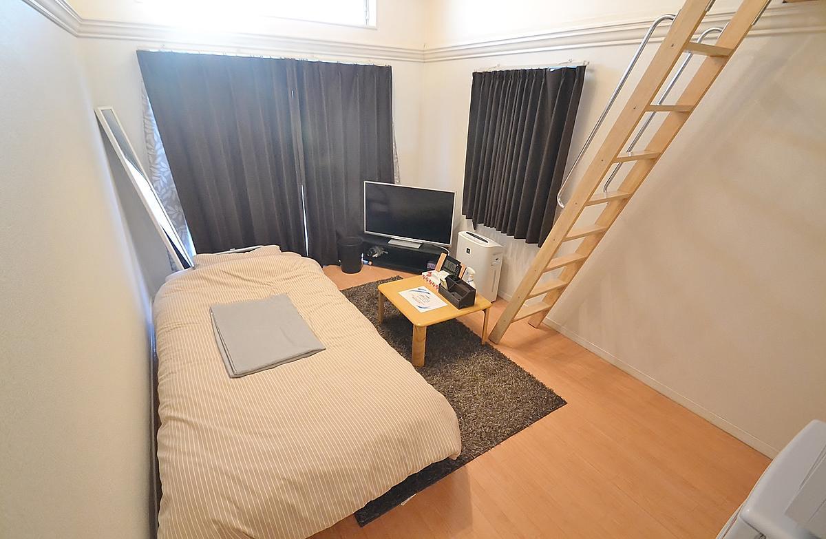 岡山県岡山市北区の家具付き賃貸「パレス西長瀬Ⅱ」メイン画像