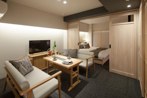 京都府のウィークリーマンション・マンスリーマンション「アパートメントホテル MIMARU 京都 堀川六角 ここは、あなたのサードプレイス。自由自在の空間へようこそ(No.310829)」メイン画像