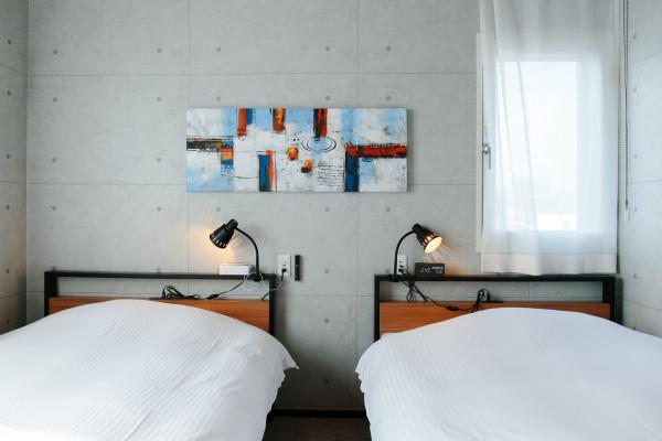 北海道のウィークリーマンション・マンスリーマンション「POTMUM ANNEX ツインルーム(No.313004)」メイン画像